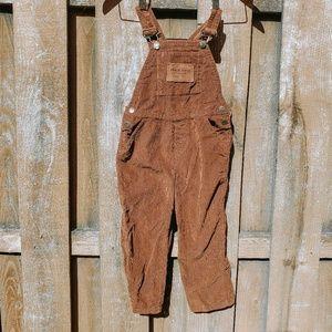 Timberland corduroy overalls